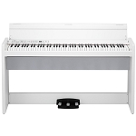 Korg LP-380 Digital Piano with matching stand - White