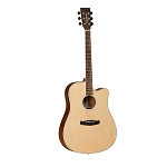 Tanglewood - Discovery Series Dreadnought Cutaway Acoustic-Electric Guitar