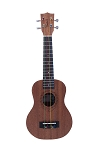 Tanglewood - TU101 Ukulele - Union Series - Natural Finish with Color-Coded Strings