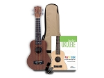 Tanglewood Learn to Play Bundle - TU101 Ukulele with Curriculum, Gig Bag & Tuner