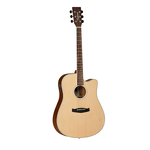 Tanglewood - Discovery Series Dreadnought Cutaway Acoustic-Electric Guitar (GITC)