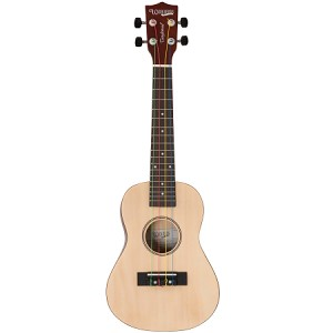 Tanglewood - TU101 Ukulele - Union Series - Natural Finish with Color-Coded Strings- GITC