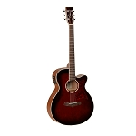 Tanglewood TW4 - Winterleaf Series Super-Folk Guitar - Whiskey Barrel Gloss